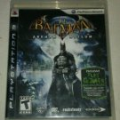 Batman: Arkham Asylum (Sony PlayStation 3, 2009) With Manual CIB Tested PS3