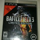 Battlefield 3 -- Limited Edition (Sony PlayStation 3, 2011) Complete Tested PS3