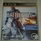Battlefield 4 -- Limited Edition (Sony PlayStation 3, 2013) Complete Tested PS3