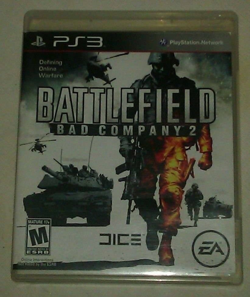 Battlefield: Bad Company 2 (Sony PlayStation 3, 2010 PS3 Complete CIP CIB Tested