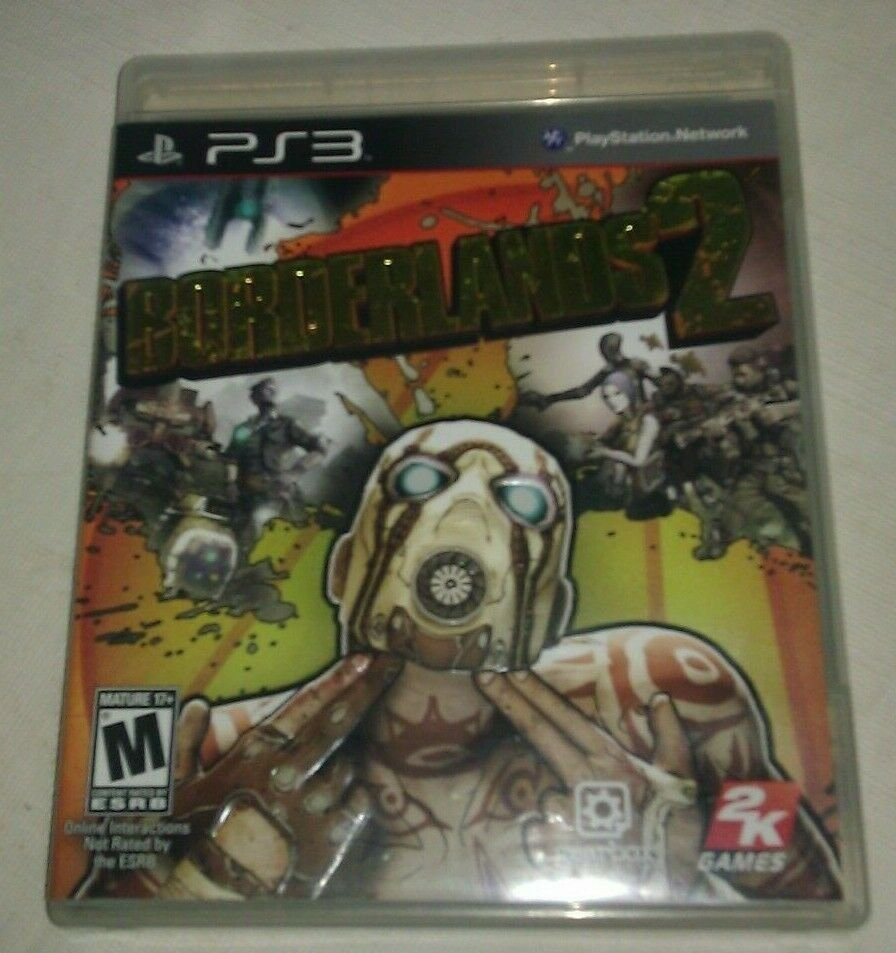 Borderlands 2 (Sony PlayStation 3, 2012) PS3 CIB CIP Complete Tested