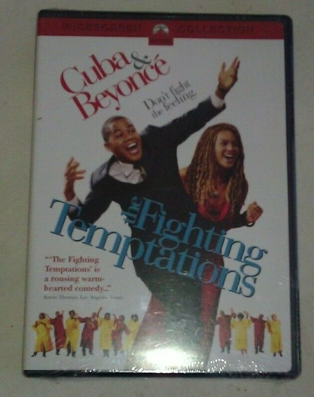 Fighting Temptations (DVD, 2004, Widescreen) Factory Sealed Beyonce
