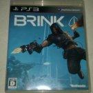 Brink (Sony PlayStation 3, 2011) Japanese Version CIB PS3 USA Seller