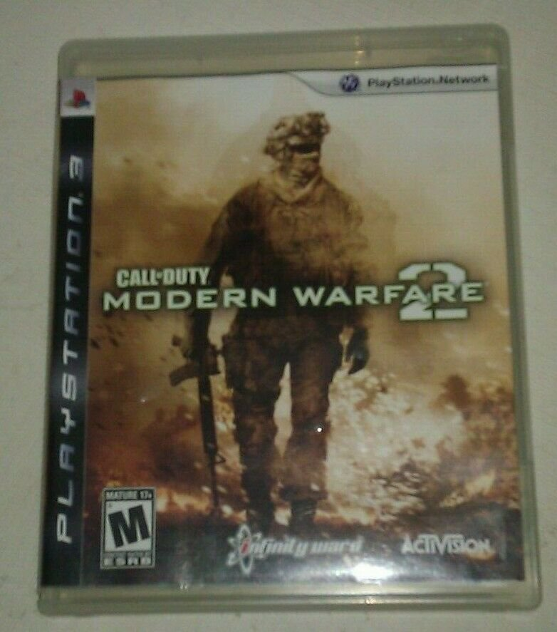 Call of Duty Modern Warfare 2 (PlayStation 3, 2009) PS3 CIB CIP Complete Tested