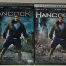 Hancock (DVD, 2008, Unrated Single Disc Version) Will Smith Charlize Theron