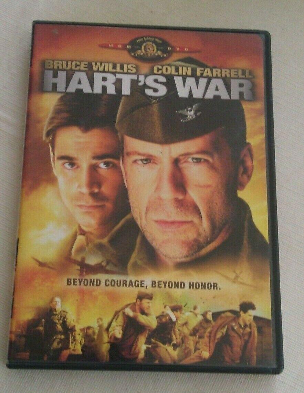 Harts War (DVD, 2002) Bruce WIllis Colin Farrell