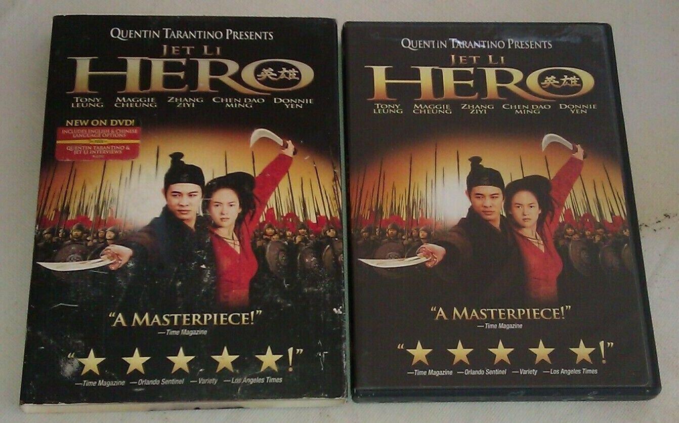 Hero (DVD, 2004) Jet Li / Quentin Tarantino Presents