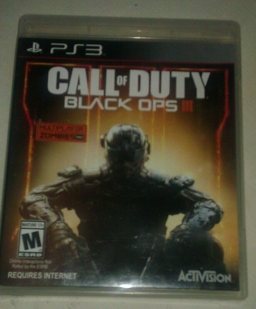 Call of Duty: Black Ops III (Sony PlayStation 3, 2015) PS3 Tested