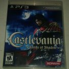 Castlevania: Lords of Shadow (Sony PlayStation 3, 2010) PS3 Complete CIB Tested