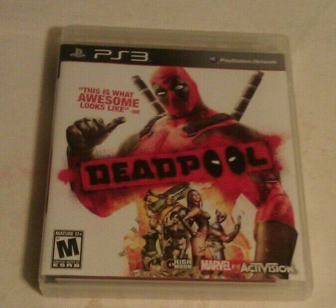 Deadpool (Sony PlayStation 3, 2013) PS3 Complete CIB CIP Tested