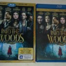 Into the Woods (Blu-ray Disc, 2015, Includes Digital HD) Mery; Streep Chris Pine