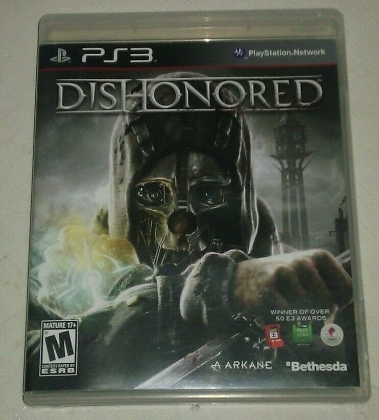 Dishonored (Sony PlayStation 3, 2012) PS3 CIB CIP Complete Tested