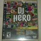DJ Hero (Sony PlayStation 3, 2009) PS3