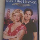 Just Like Heaven (DVD, 2006, Full Frame) Resse Witherspoon Mark Ruffalo