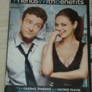 Friends with Benefits (DVD, 2011) Justin Timberlake Mila Kunis