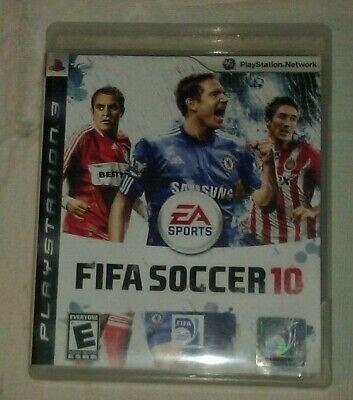FIFA Soccer 10 (Sony PlayStation 3, 2009) PS3