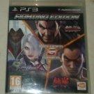Fighting Edition Playstation W/Manual PS3 Soul Calibur 5 Tekken Tag Tekken 6 HTF