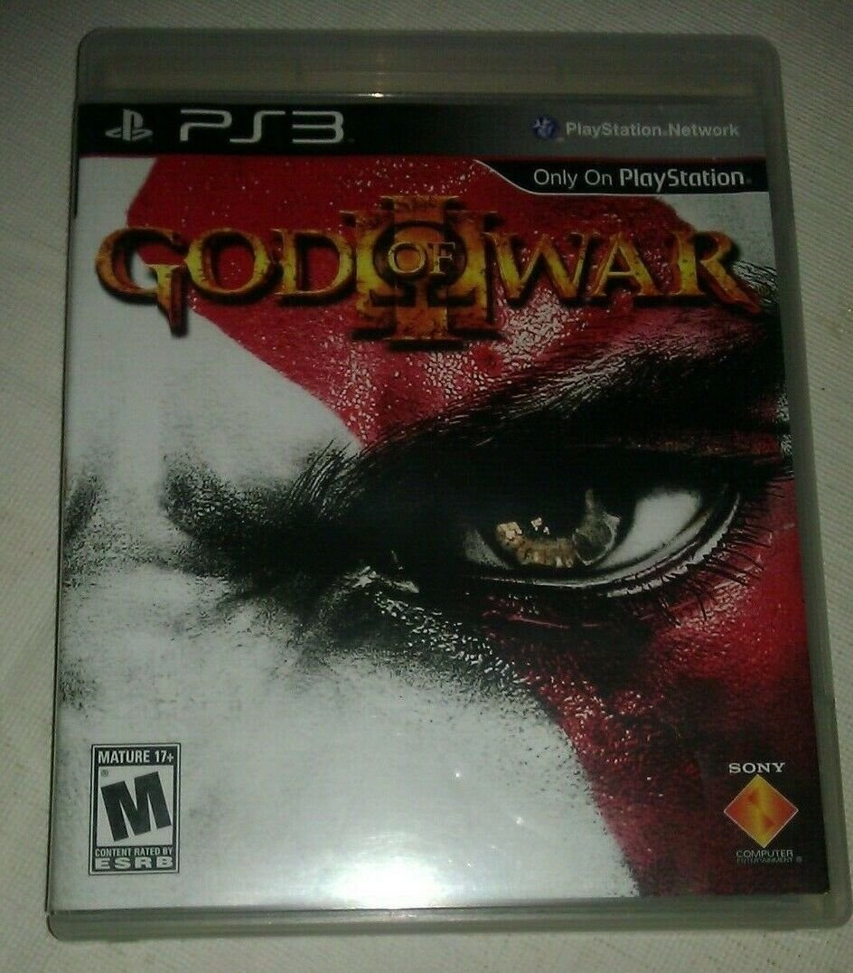 God of War III (Sony PlayStation 3, 2010) PS3 Complete CIB Tested