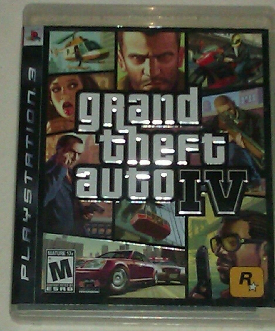 Grand Theft Auto IV (PlayStation 3, 2008) PS3 Complete CIB CIP Tested