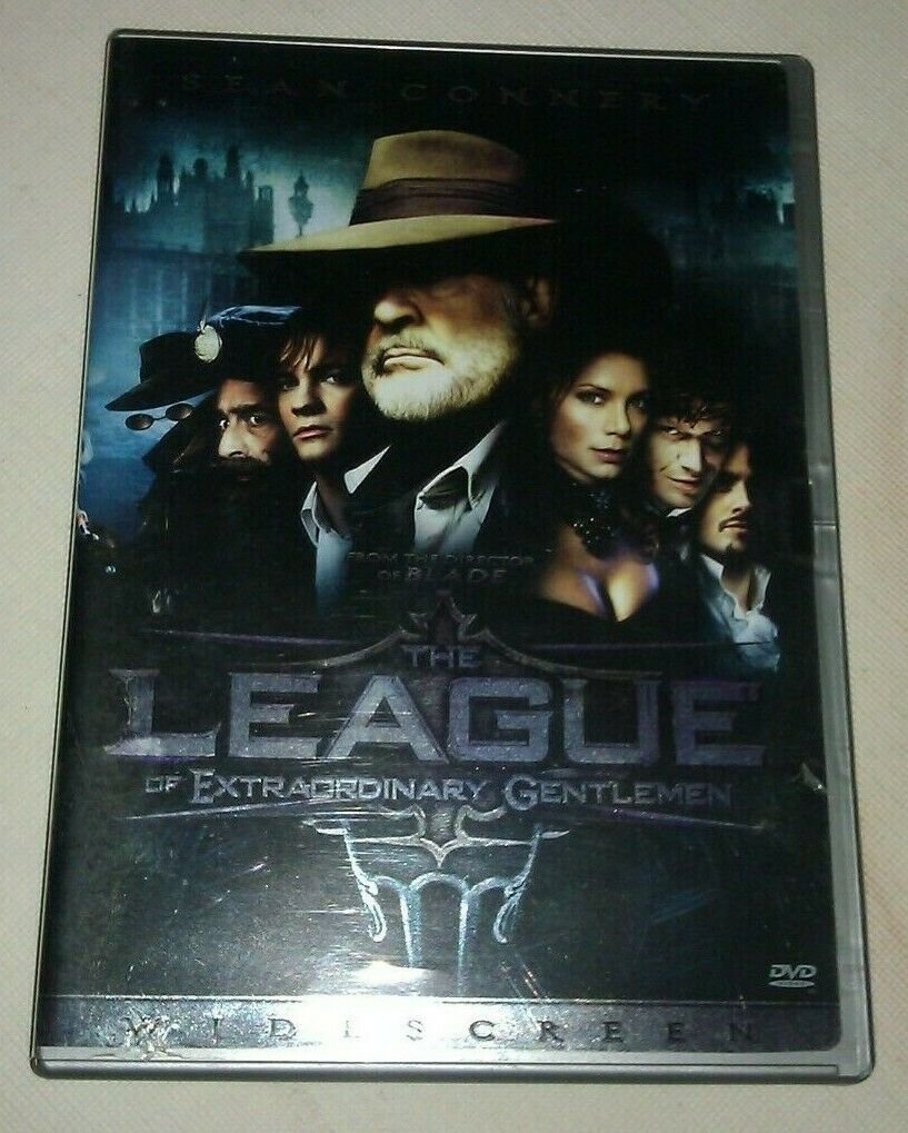 League of Extraordinary Gentlemen (DVD, 2003, Widescreen) Sean Connery