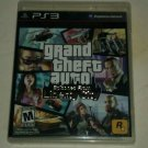 Grand Theft Auto: Episodes From Liberty City (Sony PlayStation 3, 2010) PS3 CIB