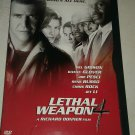 Lethal Weapon 4 (DVD, 1998, Premiere Collection) Mel Gibon Danny Glover