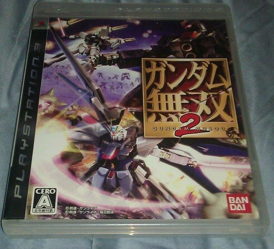 Gundam Musou 2 (Sony PlayStation 3, 2008) - Japanese Version CIB PS3 US Seller