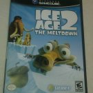 Ice Age 2: The Meltdown (Nintendo GameCube, 2006) Complete W/ Manual CIB Tested