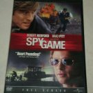 Spy Game (DVD, 2002, Full Frame Collectors Edition) Robert Redford Brad Pitt