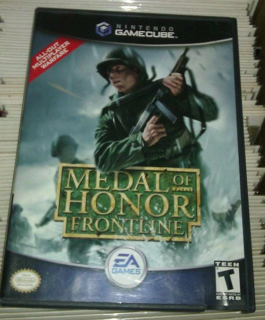 Medal of Honor: Frontline Player's Choice (Nintendo GameCube, 2004)