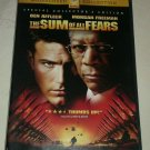 Sum of All Fears (DVD, 2002) Widescreen Special Collectors Ed Ben Affleck