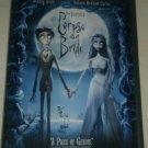 Tim Burtons Corpse Bride (DVD, 2006, Widescreen) Johnny Deep