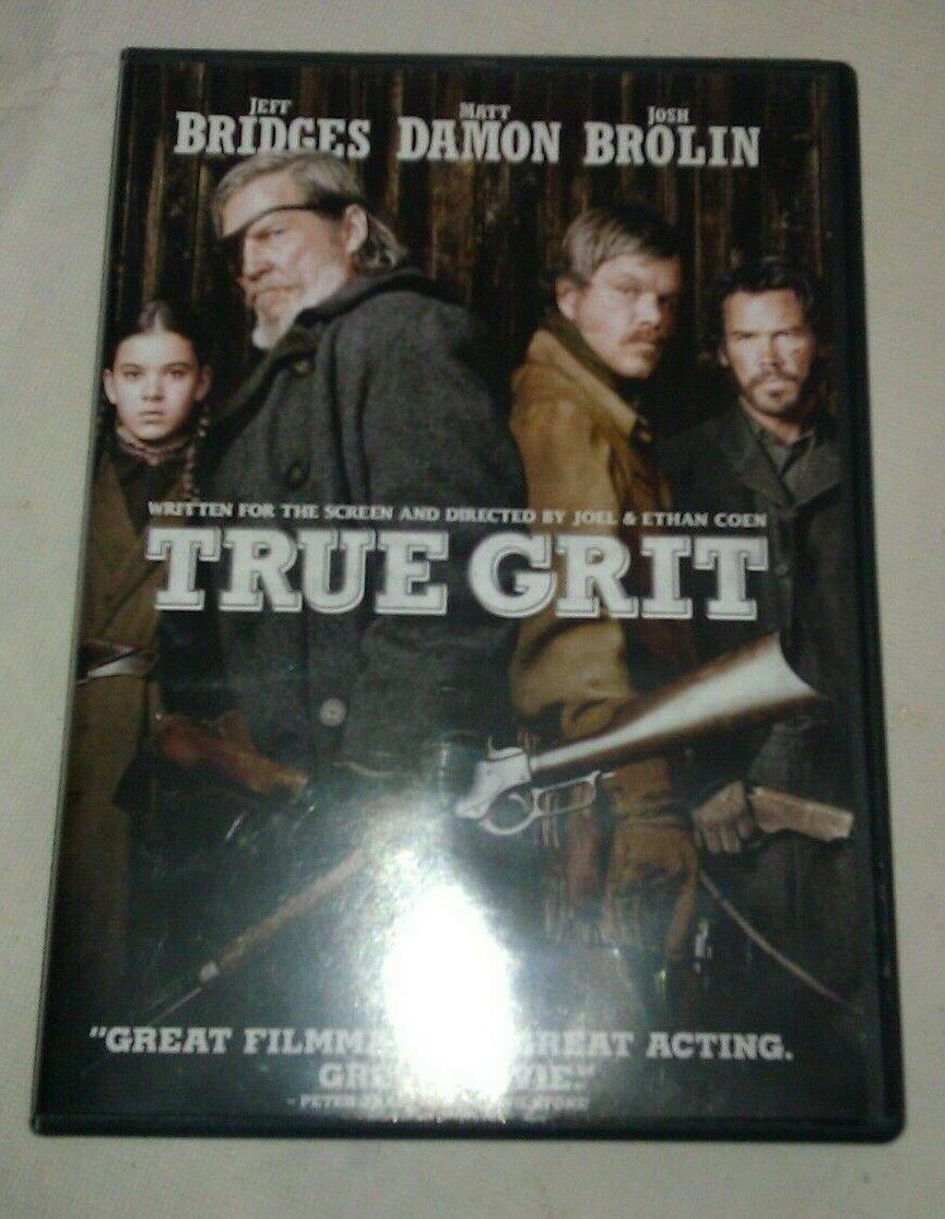 True Grit (DVD, 2011) Jeff Bridges Matt Damon Josh Brolin