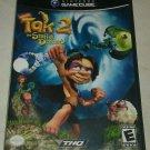 Tak 2: The Staff of Dreams (Nintendo GameCube, 2004) W/ Manual CIB Tested