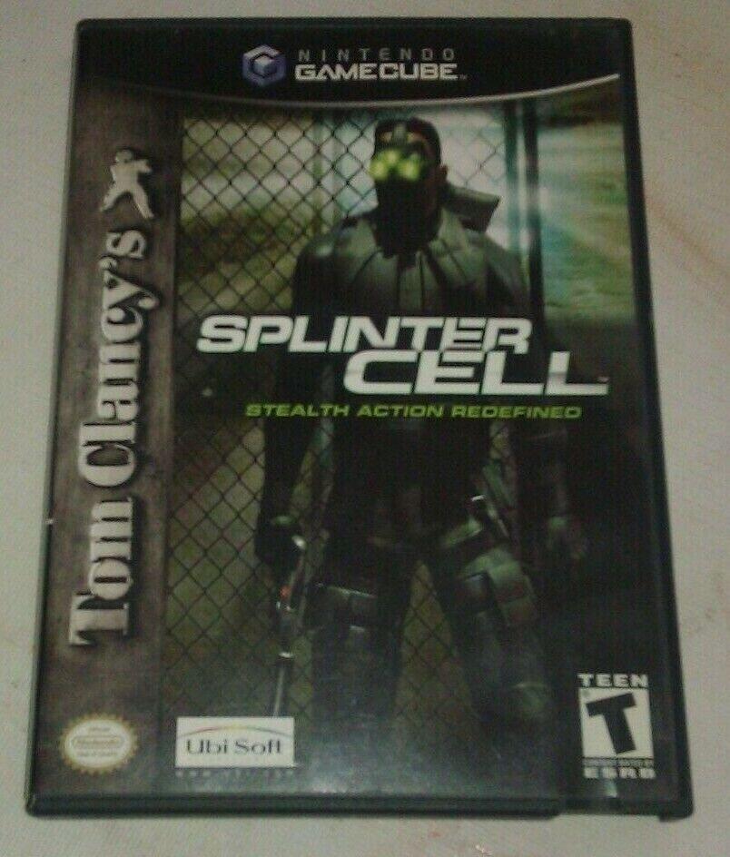 Tom Clancy's Splinter Cell (Nintendo GameCube, 2002) CIB Complete Tested