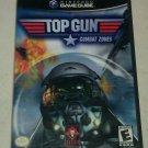 Top Gun: Combat Zones (Nintendo GameCube, 2002) Complete W/ Manual CIB Tested