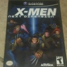 X-Men: Next Dimension (Nintendo GameCube, 2002) Complete W/ Manual CIB Tested