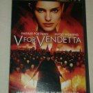 V For Vendetta (DVD, 2006, Widescreen) Natalie Portman Hugo Weaving