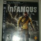inFamous (Sony PlayStation 3, 2009) With Manual CIB Complete Tested PS3