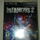 inFamous 2 (Sony PlayStation 3, 2011) With Manual CIB Complete Tested PS3
