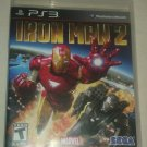 Iron Man 2 (Sony PlayStation 3, 2010) Complete With Manual CIB PS3
