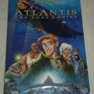 Walt Disney's Atlantis: The Lost Empire (DVD, 2002)