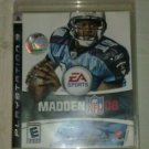 Madden NFL 08 Football (Sony PlayStation 3, 2007) PS3