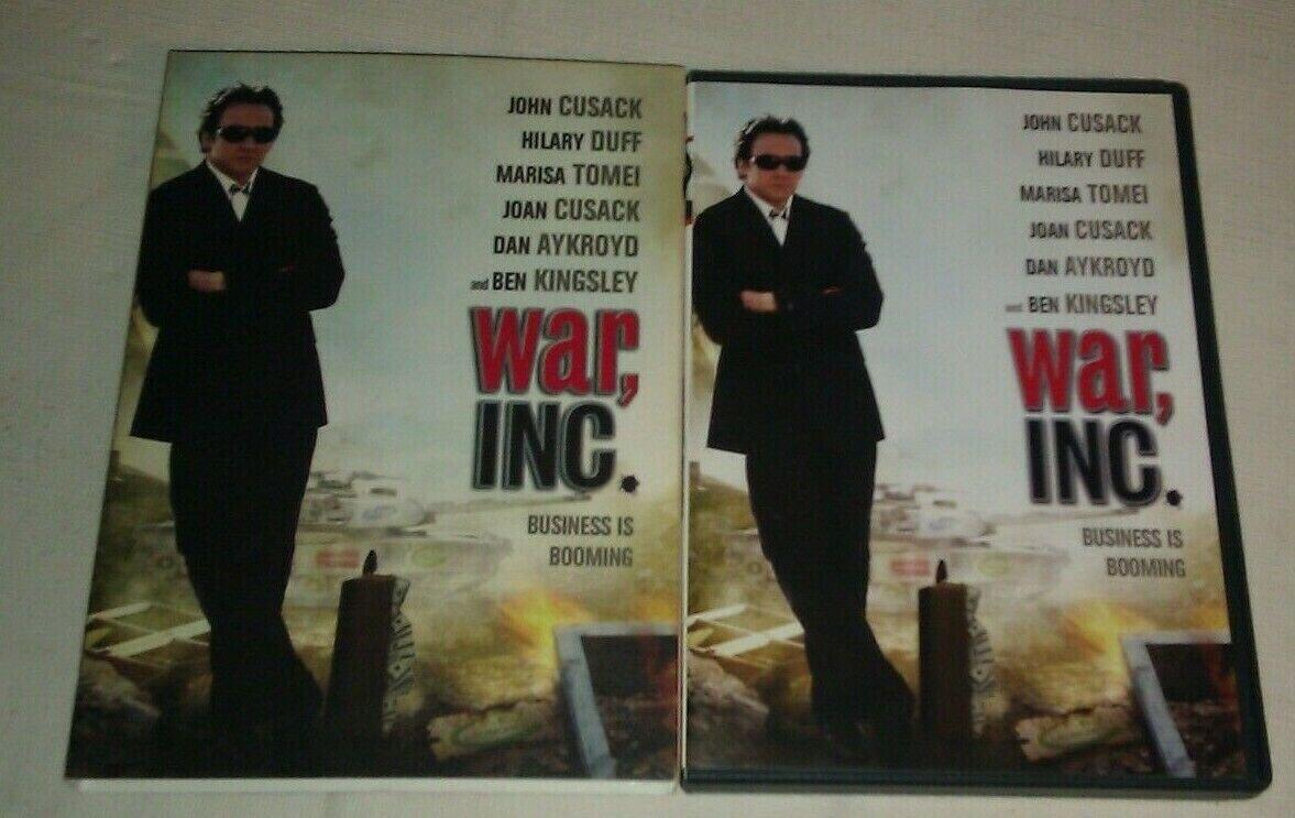War, Inc. (DVD, 2008) John Cusack Hilary Duff Marisa Tomei