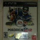 Madden NFL 12 -- Hall of Fame Edition Football (Sony PlayStation 3, 2011) PS3
