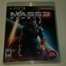Mass Effect 3 (Sony PlayStation 3, 2012) PS3 Complete CIB CIP Tested