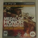 Medal of Honor Warfighter -- Limited Edition (Sony PlayStation 3, 2012) PS3