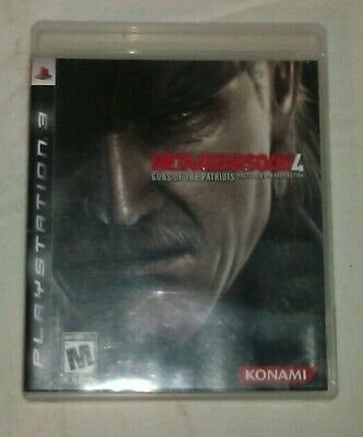Metal Gear Solid 4 Guns of the Patriots (Sony PlayStation 3, 2008) PS3
