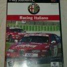 Alfa Romeo Racing Italiano (Sony PlayStation 2, 2006) PS2 CIB CIP