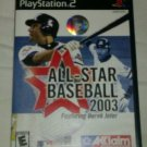 All-Star Baseball 2003 (Sony PlayStation 2, 2002) PS2 Complete CIB